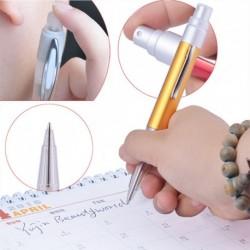 6db 2ml Mini hordozható Üres fém és alumínium Újratölthető parfüm porlasztó palack spray