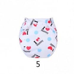 5 - Újrafelhasználható állítható pamut zsebpárna mosható szalag Baby diaper