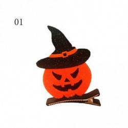 1 - Baba Halloween Witch Hair Clip Cosplay Kid Pumpkin Hajpánt Ghost Girl Dress-up