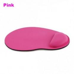 Rózsaszín - Ergonómikus kényelmes csuklópántos egérpad Egér-matrac nem PC-s laptophoz
