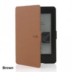 Barna - Pattern PU bőr Kindle papírfehér tok borítás Amazon Kindle Paperwhite