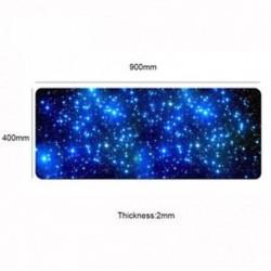 900 * 400 * 2mm - Anti-Slip Gaming Egérpad Galaxy Locking Edge nagy egér billentyűzet mat a PC-hez