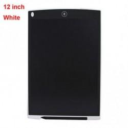 12 &quot fehér - 4,4 &quot / 8,5&quot  / 12 &quot LCD írás rajz Tablet Graphics Board Notepad Sketchpad Ajándék