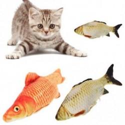 Interaktív játék Rágási szimuláció Töltött halak Toy Grass Carp Cat Mint Arowana