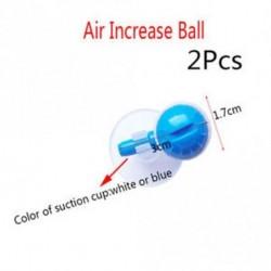 2Pcs Air növeli a labdát - Akvárium oxigén halatartalmú buborék növeli a golyó állítható légtisztító