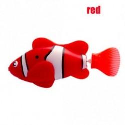 piros - Divat úszás Robofish aktivált akkumulátor Powered Robo hal játék robot hal