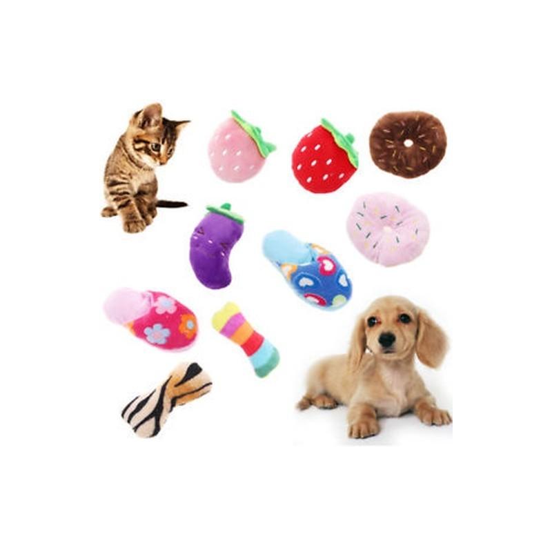 74fc43e87819 2 - Aranyos kisállat kutya kölyök macska húzogató squeaker csikó hang  rágcsálnivaló csont játék