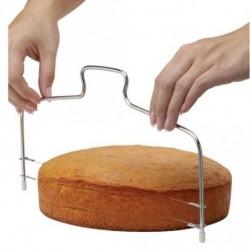 1x Rozsdamentes acél torta szeletelő