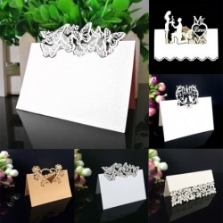 50 db születésnapi esküvői lagzi parti ültető kártya