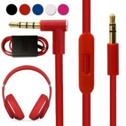 1x 3,5 mm hangkábel vezeték kábel mikrofon fülhallgató