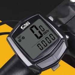 1x LCD vízálló kerékpár sebességméró