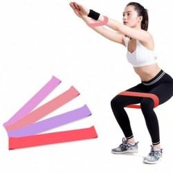 1x csípő ellenállás Latex pamut rugalmas szalag fitness edzés jóga