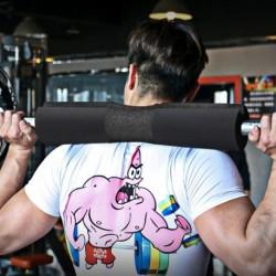 1x Barbell Fitness párna súlyemelő edzés fitnedz sport kiegészítő