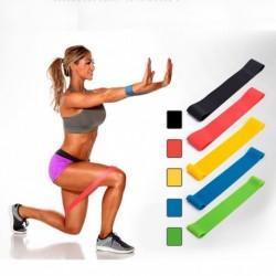 1x Jóga 5 szint Elasztikus latex edzőterem erősítő edzés gumi szalag edzés fitnesz felszerelés