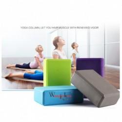 1x Jóga blokk Pilates tégla nagy sűrűségű EVA hab gyakorlat