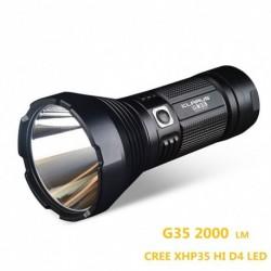 1x KLARUS G35 Zseblámpa XHP35 HI D4 LED 2000LM kemping vadászat túra hobbi