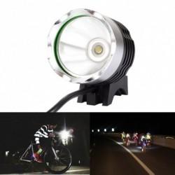1x 1800 Lumen Super Bright XML T6 LED kerékpárfény Fényszóró vízálló kerékpár fény