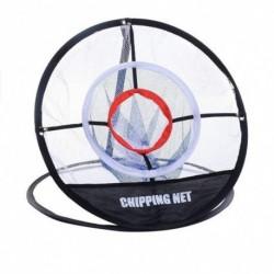 1x Hordozható golfpálya célhálózat Háromrétegű háló beltéri kültéri segédképzési golfozó eszköz