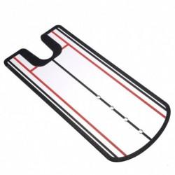 1x Golf elhelyezés tükörbeállító edzés gesztus segédeszköz Swing Trainer Line mozgás gyakorlati eszköz