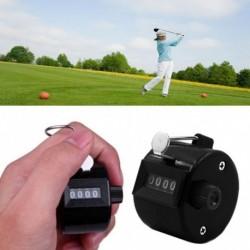 1x 4 számjegyű kézi mechanikus klikkelő golfütő kézi számláló