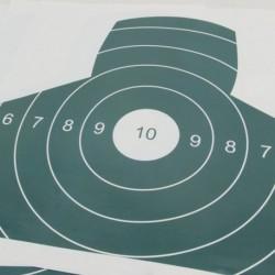 1db papír céltábla darts 50 * 50cm