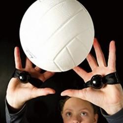1x Röplabda edzéspánt segédeszköz Speciális passzív kézi korrekciós edzőeszközök