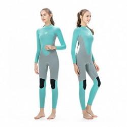 1x 3MM neoprén női karcsúsító Hosszú ujjú búvárruha snorkeling csónakázás szörfözés fürdőruha úszás