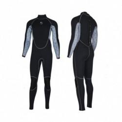 1x 2MM neoprén férfi karcsúsító Hosszú ujjú búvárruha snorkeling csónakázás szörfözés fürdőruha