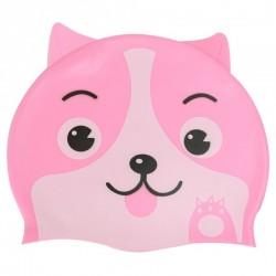 1db szilikon gyermek gyerek kutya mintás úszósapka