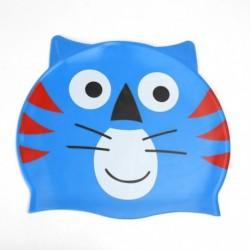 1db szilikon gyermek gyerek tigris mintás úszósapka