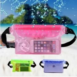 1sx vízálló telefon pénz tartó strand uszoda táska