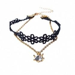 1db divatos egyedi női bizsu nyaklánc lánc testékszer ékszer medál kiegészítő