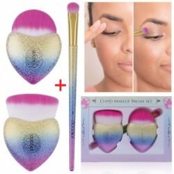 3db kozmetikai szemhéjárnyaló arcpirosító smink kefe ecset szett