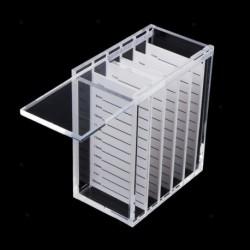 1x 5 rétegű átlátszó szempilla tároló doboz