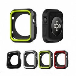 1x iWatch Slim Cool védőtok erős szilikon tok 38mm 42mm Apple Watch sorozathoz 1/2/3