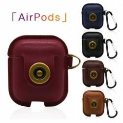 1x Airpods műbőr védőburkolat Apple Air Pods töltő-tokhoz