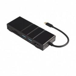 1x USB-C Macbook USB C Etehernet LAN HDMI USB 3.0 típusú C töltő dokkoló Samsung S9 S8 Huawei P20