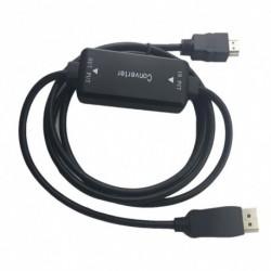 1x HD Aktív HDMI-Displayport átalakító kábel 6ft 1.8M HDMI