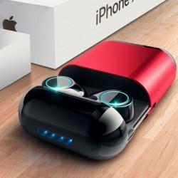 1x Bluetooth 4.2 fejhallgató TWS fülhallgató vezeték nélküli Bluetooth sztereó Bluetooth mikrofonnal és töltődoboztal