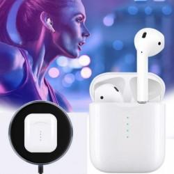 1x TWS i10 vezeték nélküli Bluetooth 5.0 zenei sztereó fejhallgató fülhallgató mikrofon