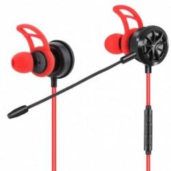 1x 3,5 mm játék fejhallgató játék fülhallgató zajszűrő állítható mikrofonnal PS4-hez, Xbox One