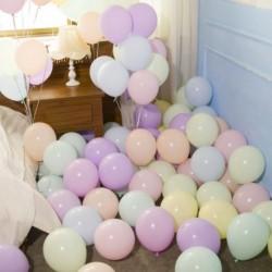 """100db 10"""" Macaroon Latex léggömb lufi esküvői dekoráció gyerek játék party születésnap kiegészítő"""