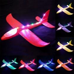 1x LED kézi vitorlázó repülőgép EPP játék gyerek játék modell