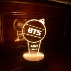 1x KPOP BTS Bangtan Army Bomb Light állítható lámpa éjszakai fény