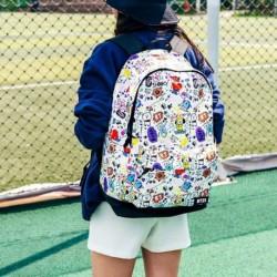 1x KPOP BTS BT21 stílus mintás iskola táska hátizsák diák válltáska