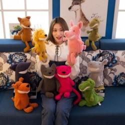 1db gyerek puha töltött plüss játéko bolyhos állatok 30cm
