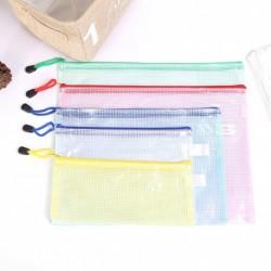 1 db vízálló műanyag cipzáras zseb szervező tárolói iroda ceruza tartü neszeszer tolltartó