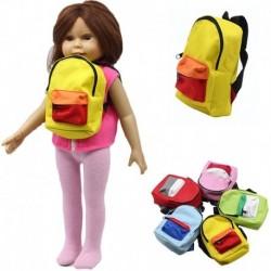 """1db játék baba hátizsák Iskolatáska 18"""" méret babához"""