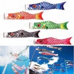 40cm Koi Nobori Carp szélzsák szélirány jelölő hal mintás