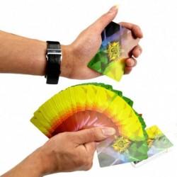 1x Színes szivárvány mágikus játékkártya trükk bűvész